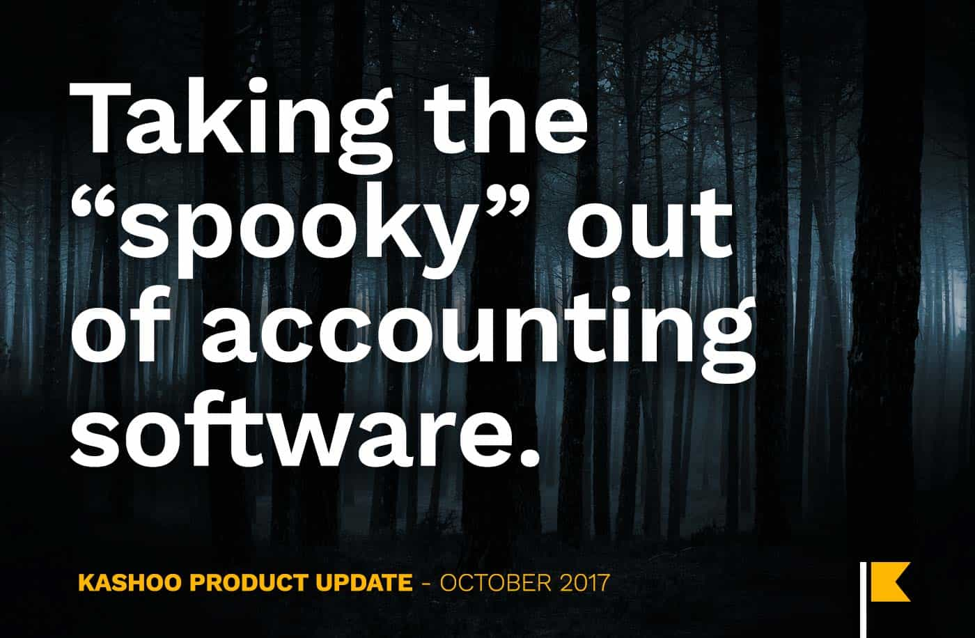 Kashoo is taking the spooky out of accounting software.