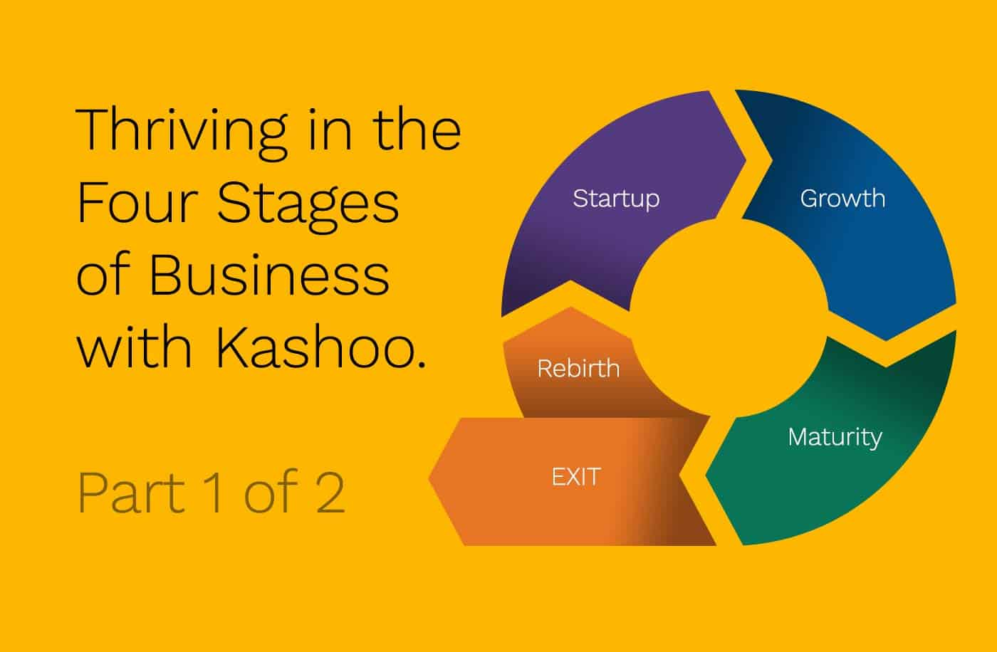 Our own CPA helps you through the Business Life Cycle with Kashoo.